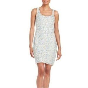 NWT Guess white confetti sequin dress size 6